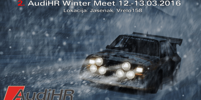 2. AudiHR Winter Meet 12.-13.03.2016., Jasenak (Bjelolasica)