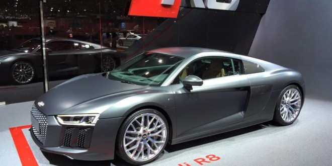 AudiHR live at 85. Geneva Motor Show 2015.